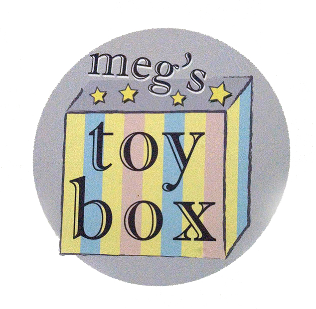 Meg's Toybox sign
