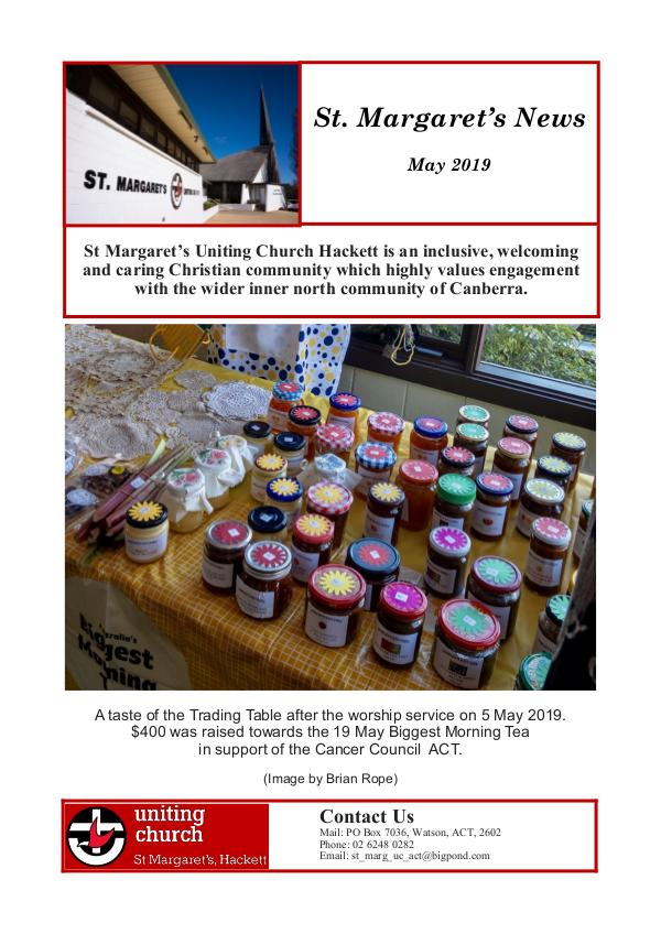 St M's News Cover 05.19