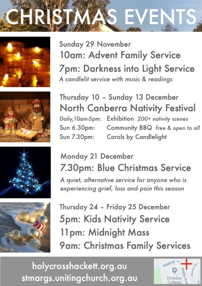 2020 Christmas Events